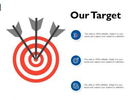 Our Target Arrows C11 Ppt Powerpoint Presentation File Gridlines