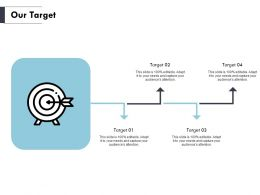 Our Target Arrows F843 Ppt Powerpoint Presentation Pictures Files
