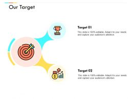Our Target Arrows Growth C682 Ppt Powerpoint Presentation Ideas Guidelines