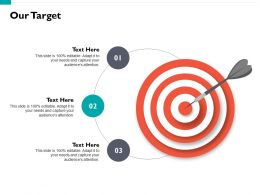 Our Target Arrows I72 Ppt Powerpoint Presentation Gallery Background Images