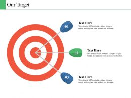Our Target Business Culture Ppt Powerpoint Presentation File Example