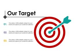 Our Target Change Management Introduction Ppt Icon Design Inspiration