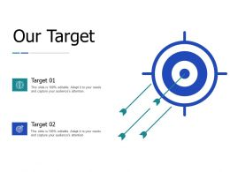 Our Target Competition J152 Ppt Powerpoint Presentation File Background