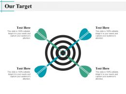 Our Target Competition J9 Ppt Powerpoint Presentation File Microsoft