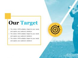 Our Target Example Of Ppt Presentation