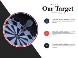 Our Target Expertise Matrix Ppt Infographic Template Background Designs