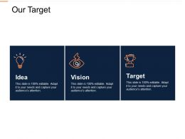 Our Target Idea L338 Ppt Powerpoint Presentation File Example Topics