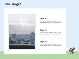 Our Target Planning H180 Ppt Powerpoint Presentation Show Backgrounds