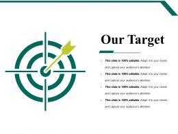 Our Target Powerpoint Slide Graphics