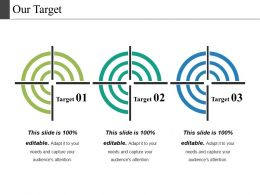 Our Target Powerpoint Slide Images