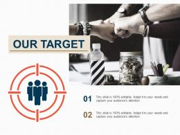 Our Target Powerpoint Slide Introduction