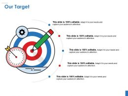 Our Target Powerpoint Slide Templates Download Template 1