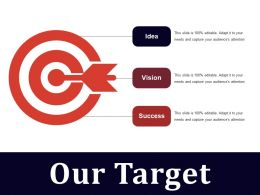 Our Target Powerpoint Slides Template 2