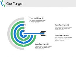 Our Target Ppt Background Images