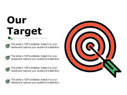 Our Target Ppt Design