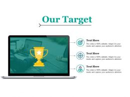 Our Target Ppt Icon Backgrounds
