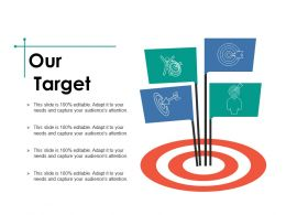 Our Target Ppt Infographic Template Backgrounds