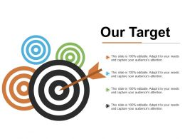 Our Target Ppt Infographic Template Graphics Pictures