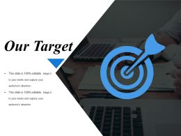 Our Target Ppt Infographics Visual Aids