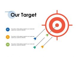 Our Target Ppt Inspiration Infographics