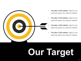Our Target Ppt Inspiration Summary