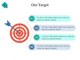 Our Target Ppt Introduction