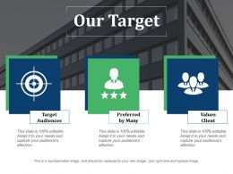 Our Target Ppt Layouts
