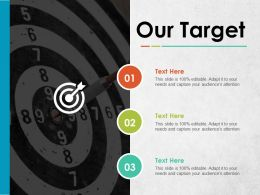 Our Target Ppt Pictures Background Designs