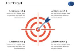 Our Target Ppt Professional Graphic Images