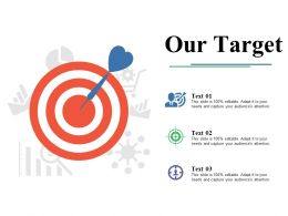 Our Target Ppt Slides Infographic Template