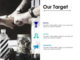 Our Target Ppt Styles Backgrounds