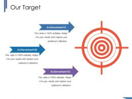 Our Target Ppt Styles Graphics Template