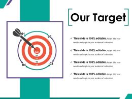 Our Target Ppt Summary File Formats