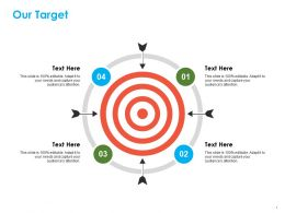 Our Target Ppt Summary Professional