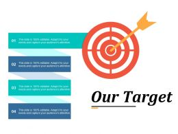 Our Target Ppt Summary Slide Download