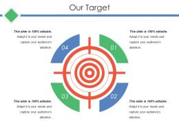 Our Target Ppt Visuals