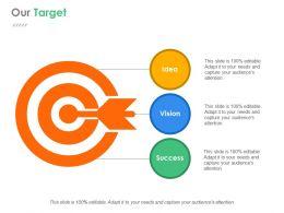 Our Target Presentation Background Images