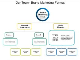 Our Team Brand Marketing Format2
