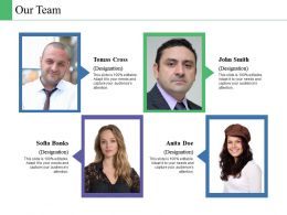 Our Team Business Culture Ppt Powerpoint Presentation File Files