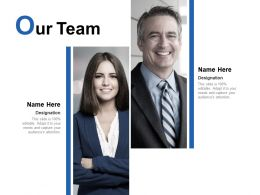 Our Team Business Introduction C91 Ppt Powerpoint Presentation Background Designs