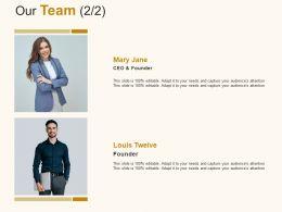 Our Team Business Management C891 Ppt Powerpoint Presentation File Slideshow