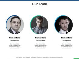 Our Team Communication A337 Ppt Powerpoint Presentation Styles Slide Portrait