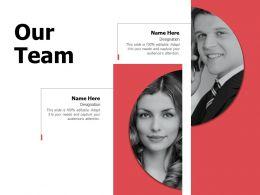 Our Team Communication A585 Ppt Powerpoint Presentation Slides Deck