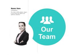 Our Team Communication B253 Ppt Powerpoint Presentation Icon Layout
