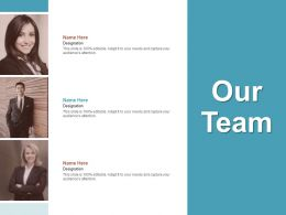 Our Team Communication C1044 Ppt Powerpoint Presentation Slides Objects