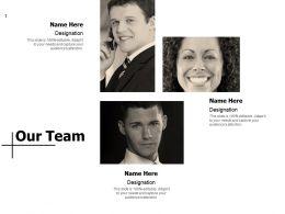 Our Team Communication D305 Ppt Powerpoint Presentation File Model