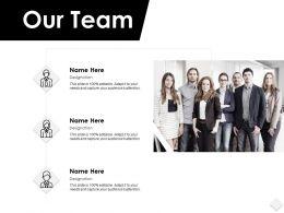 Our Team Communication F128 Ppt Powerpoint Presentation Portfolio