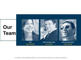 Our Team Communication F787 Ppt Powerpoint Presentation Portfolio Guide