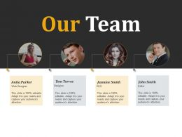 Our Team Communication Introduction C397 Ppt Powerpoint Presentation Styles Infographics