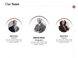 Our Team Communication Introduction E251 Ppt Powerpoint Presentation File Graphics
